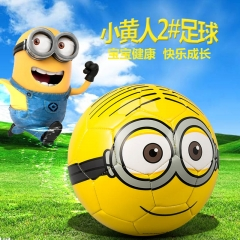 Despicable Me Minions Cartoon Football Funny Toys Original Anime Soccer For Student