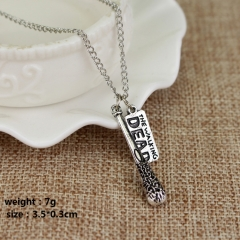 The Walking Dead Cosplay Movie Fashion Pendant Decoration Alloy Anime Necklace(10pcs/set)