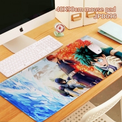 My Hero Academia Cartoon Print Cosplay Locking Thicken Mouse Mat Anime Mouse Pad