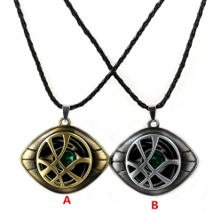 Marvel Movie Doctor Strange Fancy Necklace Cosplay Long Chain Necklace