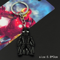 Batman Model Pendant Key Ring Movie Anime Alloy Keychain