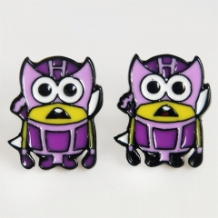 Despicable Me Cos Cartoon Cute Alloy Earring Fashion Girls Earring