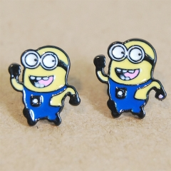 Despicable Me Cartoon Cute Alloy Earring Fashion Girls Earring