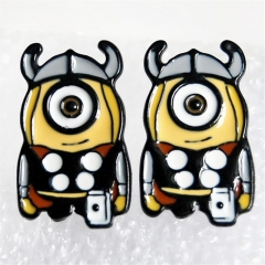 Despicable Me Cos The Thor Cartoon Cute Alloy Earring Fashion Girls Earring