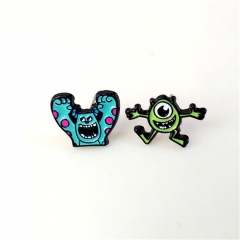 America Monsters University Cute Alloy Earring Cartoon Fancy Earring