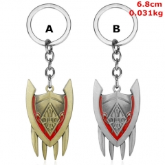 League of Legends Cosplay Game Decoration Alloy Anime Keychain