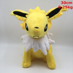 Pokemon Thunders Cosplay Cartoon For Kids Gift Doll Anime Plush Toy