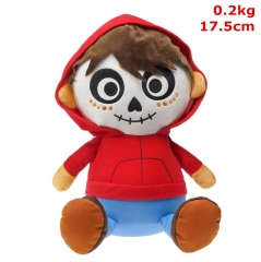 Coco Cosplay Movie For Kids Fancy Stuffed Doll Anime Plush Toy