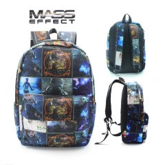 Mass Effect Cosplay Game High Capacity Anime Backpack Bag