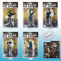 Metal Gear Solid PVC Action Figure Toy Set