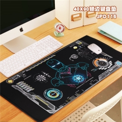 Iron Man Cool Movie Marvel Print Cosplay Locking Thicken Mouse Mat Anime Mouse Pad
