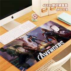 The Avengers Cool Movie Marvel Print Cosplay Locking Thicken Mouse Mat Anime Mouse Pad