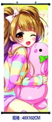 LoveLive Hanging Wall Scrolls Cosplay Cartoon Anime Wallscrolls 40*102cm