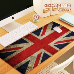 The Union Flag Print Cosplay Locking Thicken Mouse Mat Anime Mouse Pad