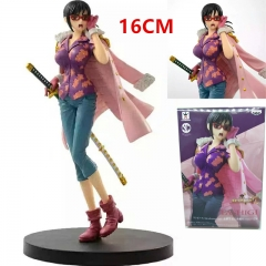 One Piece Tashigi Cartoon Toys Wholesale Anime PVC Figure 16CM