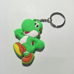 Super Mario Bro Game Character Cute Soft PVC Keychain