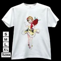 LoveLive Cosplay Japanese Cartoon Modal Cotton Anime T shirts