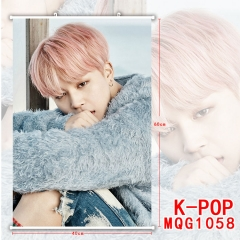 K-POP Korean Star Painting Hanging Wall Scroll Home Decoration Poster Cosplay Wallscrolls