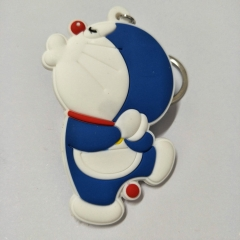 Japan Doraemon Cartoon Cute Soft PVC Keychain Fancy Keyring