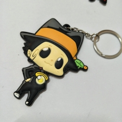 HITMAN REBORN! Cartoon Cute Soft PVC Keychain Fancy Keyring