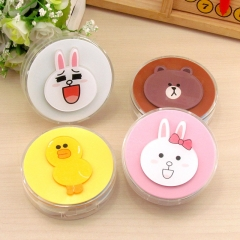 Mix Designs Line Town Cartoon Anime Contact Lens Box Mixed Color Random Wholesale