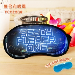 Ready Player One Movie Popular Cosplay Colorful Printing Eye patch Cartoon Composite Cloth Anime With Ice Bag Eyepatch