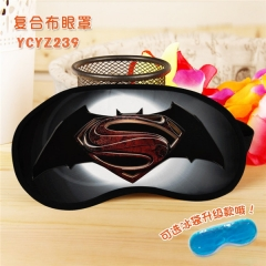 Batman Super Hero Cool Movie Popular Cosplay Colorful Printing Eye patch Cartoon Composite Cloth Anime With Ice Bag Eyepatch