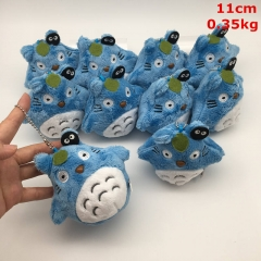 My Neighbor Totoro Cosplay Cartoon For Kids Gift Doll Anime Plush Toy Pendant (10pcs/set)