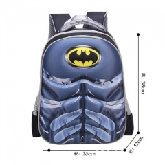 Batman Movie Super Hero Marvel Colorful Cosplay Game High Capacity Anime Canvas Backpack Bag