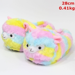 Alpaca Cosplay Cute Cartoon For Adult Anime Plush Slipper