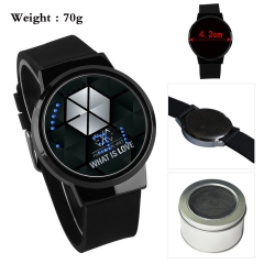 EXO Korea Star Popular Touch Screen Anime Watch with Box