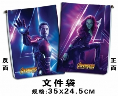 The Avengers Cosplay Movie For Student Office File Holder Anime File Pocket