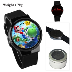 Super Mario Bro Cartoon Popular Touch Screen Anime Watch with Box