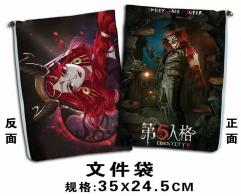 Identity V Cosplay Game For Student Office File Holder Anime File Pocket