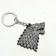 Game Of Thrones Anime Soft PVC Keychain Kawaii Pendant