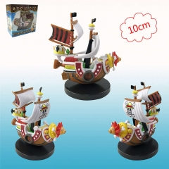 One Piece THOUSAND SUNNY Cosplay Cartoon Cute Design Anime PVC Figure