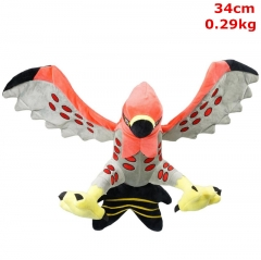 Pokemon Talonflame Cosplay Cartoon For Kids Fancy Stuffed Doll Anime Plush Toy