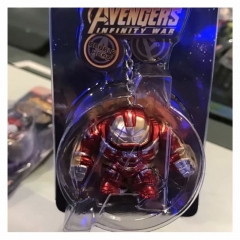 The Avenger Iron Man Figure pendant Key Ring Wholesale Anime PVC Key Chain