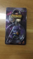 The Avenger Thanos Figure pendant Key Ring Wholesale Anime PVC Key Chain