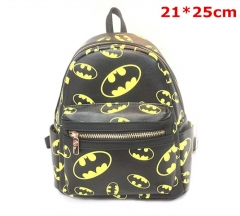 DC Comics Batman Cosplay Movie PU Leather Anime Backpack Bag