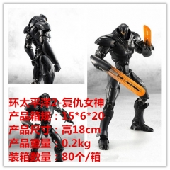 Pacific Rim Obsidian Fury Cartoon Model Toys Statue Anime PVC Figure 18cm