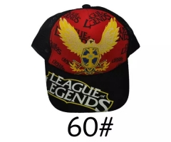 League of Legends Game Cartoon Cosplay Baseball Hat Fashion Sports Anime Cap