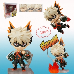Q Version Boku No Hero Academia / My Hero Academia  Bakugou Katsuki Anime Figure Toy 705#