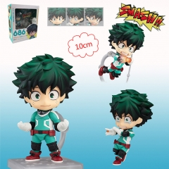 Q Version Boku No Hero Academia/ My Hero Academia 686# Midoriya Izuku Anime Figure Toy