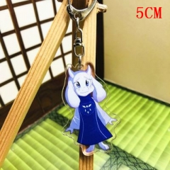 Undertale Sans Fashion Two Sides Pendant Good Quality Acrylic Anime Keychain