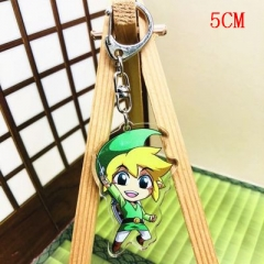 The Legend Of Zelda Fashion Two Sides Pendant Good Quality Acrylic Anime Keychain