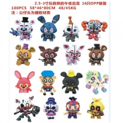 Funko POP Five Nights at Freddy's Vinyl Cosplay Cartoon Collection Anime Figure (16pcs/set))