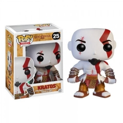 Funko POP God of War Kratos 25# Cartoon Model Statue Anime PVC Action Figure Toy