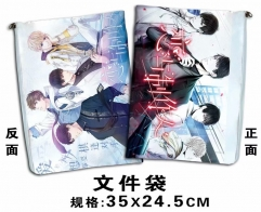 Love and Producers Cosplay Game For Student Office File Holder Anime File Pocket