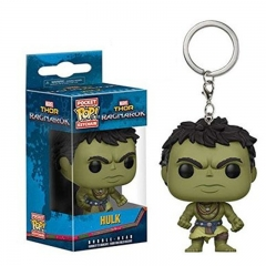 Funko POP The Thor The Hulk Cosplay Movie Anime PVC Figure Keychain